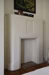 Avenue Coghen 28, Uccle, cheminée à l'étage (© ARCHistory/APEB, photo 2020)