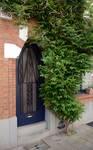 Rue Guillaume Crock 22, Auderghem, entrée (© ARCHistory/APEB, photo 2020)