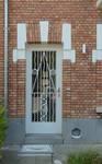 Avenue Jean Vanhaelen 42, Auderghem, porte d'entrée (© ARCHistory/APEB, photo 2020)