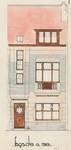 Avenue Théo Vanpé 75, Auderghem, élévation principale, ACAud./Urb. 3294, 1931