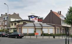 Ancien café-restaurant Au Solarium du Parc, devenu Auberge de la Pergola, avenue des Pagodes 445, Bruxelles Laeken, élévation (© C. Dubois, photo 2020)