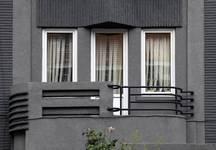 Rue du Mont Saint-Alban 8, Bruxelles Laeken, premier étage (photo ARCHistory/APEB © urban.brussels, photo 2017)