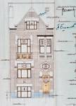 Rue Émile Delva 41, Bruxelles Laeken, élévation principale, AVB/TP 51971, 1927