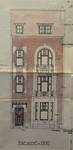 Rue Félix Sterckx 10, Bruxelles Laeken, élévation principale, AVB/TP 37504, 1925