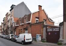 Rue Laneau 88-90, Bruxelles Laeken, élévation principale (photo ARCHistory/APEB © urban.brussels, photo 2017)