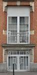 Rue Léopold Ier 244, Bruxelles Laeken, jour de cave et fenêtre du bel étage (photo ARCHistory/APEB © urban.brussels, photo 2017)