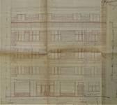 Rue Léopold Ier 248 | Rue Edmond Tollenaere 117, Bruxelles Laeken, élévation principale, AVB/TP 71527, 1932