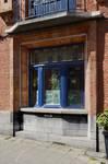 Rue des Augustines 105, Jette, fenêtre du rez-de-chaussée (© ARCHistory/APEB, photo 2020)