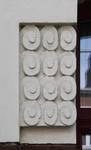 Rue Josse De Boeck 10, Jette, détail façade (© ARCHistory/APEB, photo 2020)