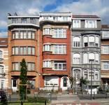 Avenue Charles Woeste 108 à 112, élévations principales (© ARCHistory/APEB, photo 2020)