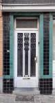 Avenue Milcamps 146, Schaerbeek, porte d'entrée (© ARCHistory/APEB, photo 2020)