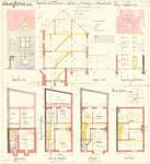 Avenue Milcamps 148, Schaerbeek, élévations, coupe, plans, ACS/Urb. 194/148, 1932