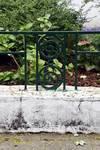 Avenue Coghen 66, Uccle, détail grille du jardinet (© ARCHistory/APEB, photo 2020)