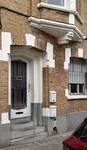 Rue des Glaïeuls 53, Uccle, porte d'entrée (© ARCHistory/APEB, photo 2020)
