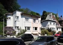 Square du Castel Fleuri 17 à 13, Watermael-Boitsfort, élévations principales (© C. Dubois, photo 2020)