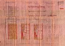 Avenue du Castel 57, Woluwe-Saint-Lambert, élévations, coupe, plans, ACWSL/Urb. 4782, 1935