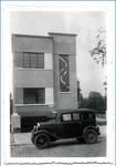 Avenue du Hockey 45, Woluwe-Saint-Pierre, élévation principale, photo d'époque (© Collection privée)