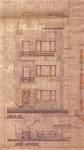 Avenue Gounod 38A, Anderlecht, élévation principale, ACA/Urb. 26443, 1934