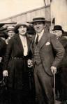 Louis Tenaerts et Clémentine Douart des Gadeaux, probablement à l'époque de leurs fiançailles, vers 1923 (© Collection Kovarski-Paquet).