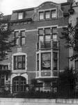 Avenue Prudent Bols 91, Bruxelles Laeken, maison de Clémentine Douart des Gadeaux, qui devint également celle de son époux, Louis Tenaerts, photo d'époque (© Collection Kovarski-Paquet).