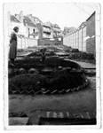 Avenue Coghen 28, Uccle, photo d'époque du jardin (Collection privée)