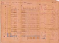 Avenue de l'Université 106, Ixelles, élévations, coupe, ACI/Urb. 293/106, 1938