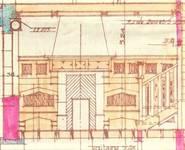 Place de la Grotte 5, Jette, projet pour la cheminée de la salle à manger, ACJette/Urb. 4980, 1927