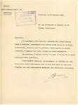 Avenue de la Poésie 14, Anderlecht, lettre de demande de la commanditaire (Alice Barrois) adressée à la Commune d'Anderlecht pour la construction d'une maison, ACA/Urb. 26888, 30/11/1934