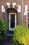 Avenue Jean Vanhaelen 40, Auderghem, porte d'entrée (© ARCHistory/APEB, photo 2020)