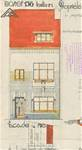Avenue Jean Vanhaelen 42, Auderghem, élévation principale, ACAud./Urb. 3376, 1931
