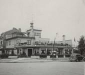 Ancien café-restaurant Au Solarium du Parc, avenue des Pagodes 445, Bruxelles Laeken, photo de la fin des années 1930 (© Collection Kovarski-Paquet).
