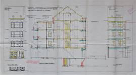 Avenue Richard Neybergh 189, Bruxelles Laeken, élévations et coupe, AVB/TP 40744, 1929