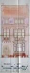 Rue du Cloître 71, Bruxelles Laeken, élévation principale, AVB/TP 53663, 1923