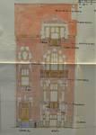 Rue Ernest Salu 73, Bruxelles Laeken, élévation principale, AVB/TP 52990, 1925