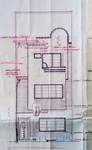 Rue Gustave Gilson 190, Bruxelles Laeken, projet d'élévation principale, AVB/TP 40543, 1932.