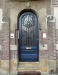 Rue Laneau 2, Bruxelles Laeken, entrée (© C. Dubois, photo 2019)