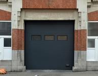 Rue Léopold Ier 178-180, Bruxelles Laeken, porte de garage (photo ARCHistory/APEB © urban.brussels, photo 2017)