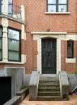 Rue Stuyvenbergh 38, Bruxelles Laeken, entrée (photo ARCHistory/APEB © urban.brussels, photo 2018)