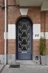 Avenue Mozart 25, Forest, porte d'entrée (© ARCHistory/APEB, photo 2020)