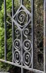 Rue Léopold Ier 353, Jette, détail grille jardinet (© ARCHistory/APEB, photo 2020)
