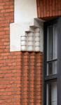 Rue des Augustines 98, Jette, détail façade (© ARCHistory/APEB, photo 2020)