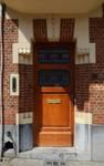 Rue des Augustines 99, Jette, entrée (© ARCHistory/APEB, photo 2020)