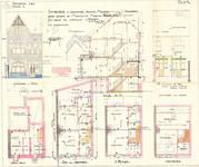 Avenue Milcamps 144, Schaerbeek, élévations, coupe, plans, ACS/Urb. 194/144, 1931