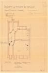 Avenue Milcamps 197, Schaerbeek, modification plan du sous-sol, ACS/Urb. 194/197, 1933