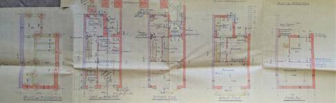 Rue du Saphir 22, Schaerbeek, plans, ACS/Urb. 241/22, 1934