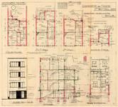 Rue des Carmélites 54, Uccle, élévations, coupe, plans, ACU/Urb. 7903, 1933