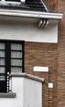 Avenue Coghen 24, Uccle, détail façade deuxième étage (© ARCHistory/APEB, photo 2020)