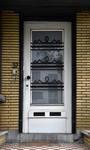 Avenue Coghen 37, Uccle, porte d'entrée (© ARCHistory/APEB, photo 2020)