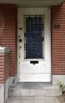 Avenue Coghen 59, Uccle, porte d'entrée (© ARCHistory/APEB, photo 2020)