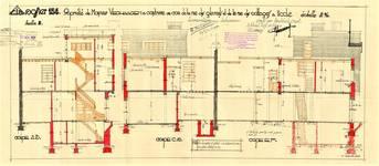 Rue des Cottages 49, Uccle, coupes, ACU/Urb. 6585, 1931